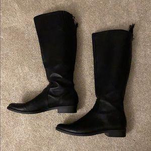 Calvin Klein Black Riding Boots